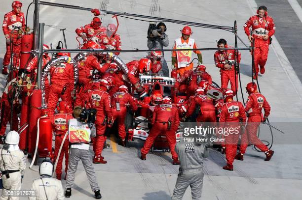 Michael Schumacher Ferrari F2004 Grand Prix of Chine Shanghai International Circuit 26 September 2004
