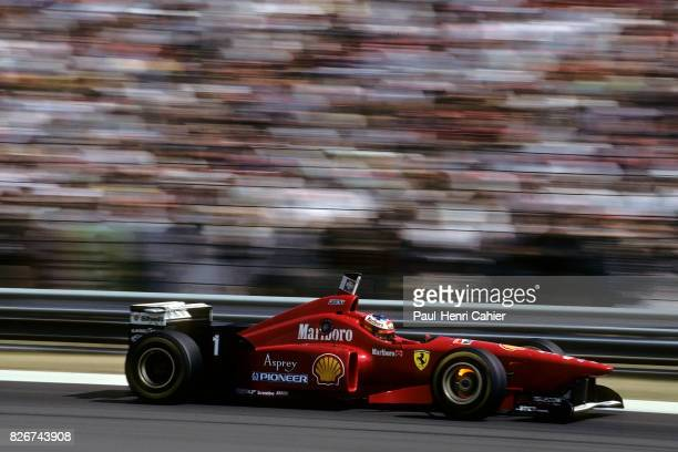 Michael Schumacher Ferrari F310 Grand Prix of Hungary Hungaroring 11 August 1996