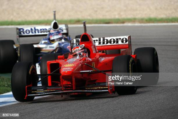 Michael Schumacher, Ferrari F310B, Grand Prix of Europe, Jerez, 26 October 1997.