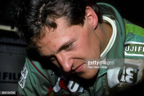 Michael Schumacher Grand Prix of Belgium Spa Francorchamps 25 August 1991 First Formula One race for Michael Schumacher