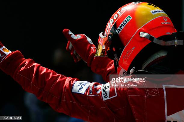 Michael Schumacher, Grand Prix of Europe, Nurburgring, 30 May 2004.