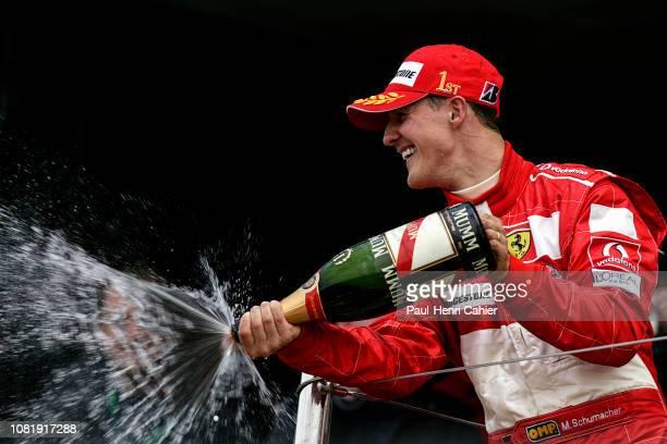 Michael Schumacher Grand Prix of Great Britain Silverstone Circuit 11 July 2004