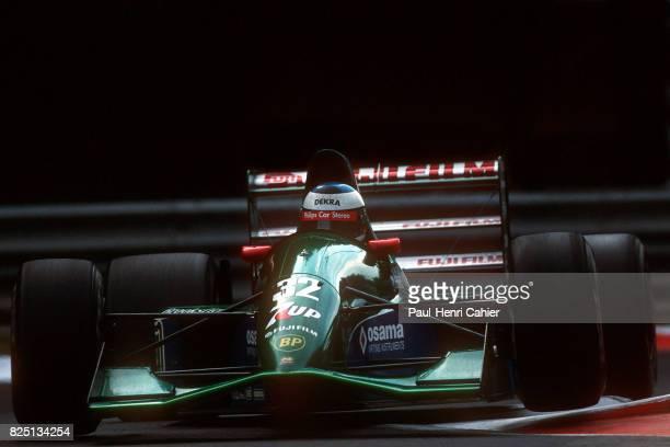 Michael Schumacher, Jordan-Ford 191, Grand Prix of Belgium, Spa Francorchamps, 25 August 1991. First Formula One race for Michael Schumacher.