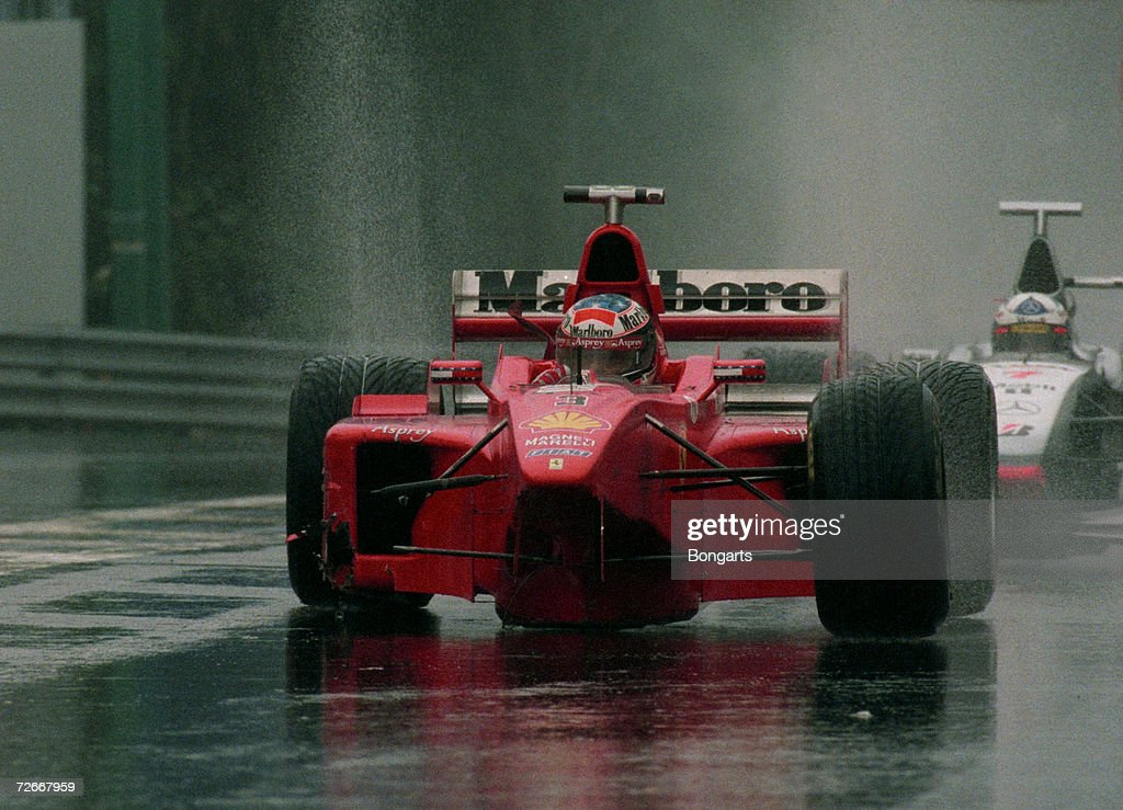 Formula One Grand Prix of Belgium 1998 : News Photo