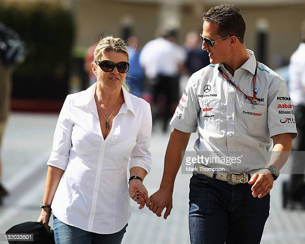 Michael Schumacher Corrina Stock Photos And Pictures