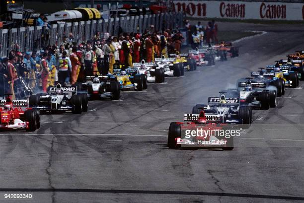 Michael Schumacher, Rubens Barrichello, FFerrari F2002, Grand Prix of San Marino, Autodromo Enzo e Dino Ferrari, Imola, 14 April 2002.