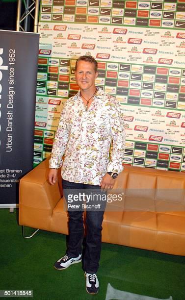 Michael Schumacher SzeneLokal Chilli Club nach Abschiedsspiel für ExSV Werder BremenSpieler T o r s t e n F r i n g s Bremen Deutschland Europa...