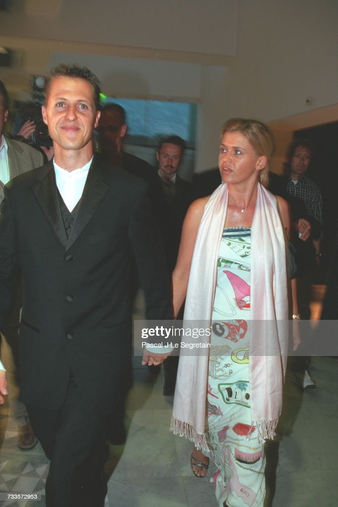 Michael Schumacher With His Wife Corinna News Photo Getty Images