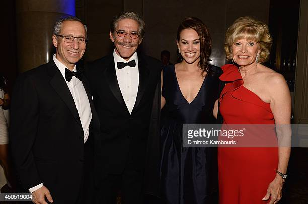 Michael Senter Geraldo Rivera Erica Michelle Levy and Pat Clemency attend the MakeAWish Metro New York Annual Gala An Evening of Wishes at Cipriani...