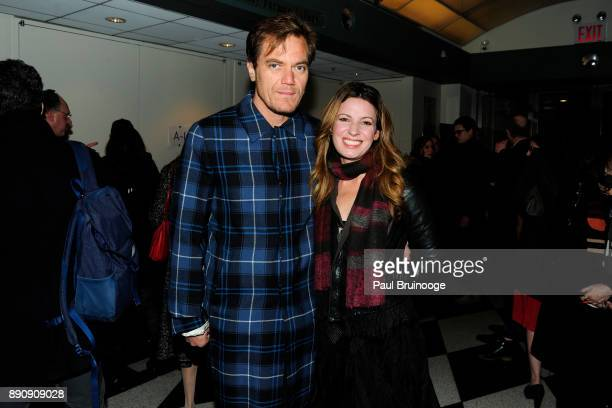 Michael Shannon and Kate Arrington attend the New York premiere of Phantom Thread at The Film Society of Lincoln Center Walter Reade Theatre on...