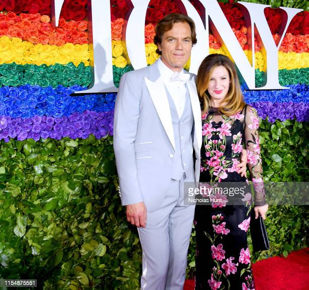 Michael Shannon and wife, Kate Shannon attend the 73rd Annual Tony Awards at Radio City Music Hall on June 09, 2019 in New York City.