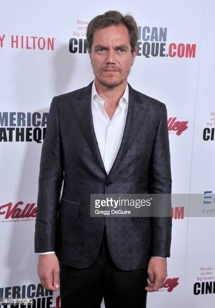 Michael Shannon arrives at the 31st Annual American Cinematheque Awards Gala at The Beverly Hilton Hotel on November 10 2017 in Beverly Hills...