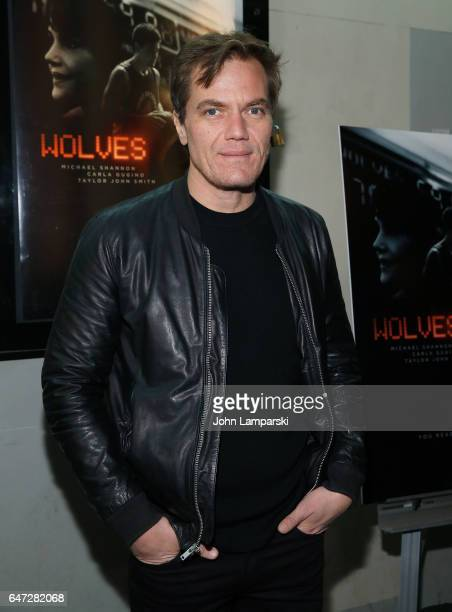 Michael Shannon attend 'Wolves' special screening at IFC Center on March 2 2017 in New York City