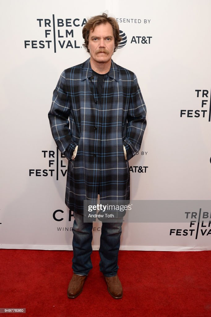 Michael Shannon attends a screening of 'State Like Sleep' during the 2018 Tribeca Film Festival at SVA Theatre on April 21, 2018 in New York City.