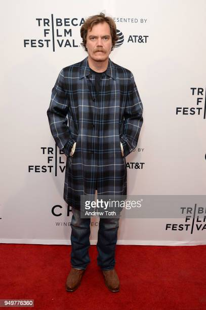 Michael Shannon attends a screening of 'State Like Sleep' during the 2018 Tribeca Film Festival at SVA Theatre on April 21 2018 in New York City