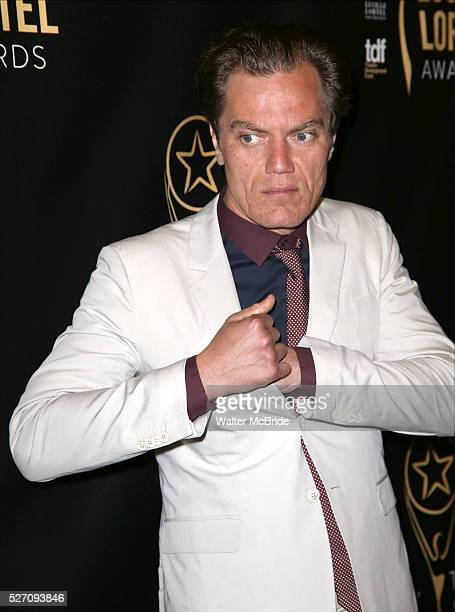 Michael Shannon attends at the 31st Annual Lucille Lortel Awards at NYU Skirball Center on May 1, 2016 in New York City. Attend at the 31st Annual...