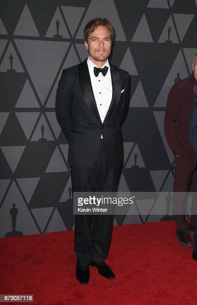 Michael Shannon attends the Academy of Motion Picture Arts and Sciences' 9th Annual Governors Awards at The Ray Dolby Ballroom at Hollywood Highland...