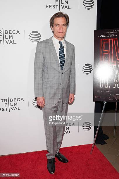 Michael Shannon attends the 'Elvis Nixon' premiere during the 2016 Tribeca Film Festival at John Zuccotti Theater at BMCC Tribeca Performing Arts...