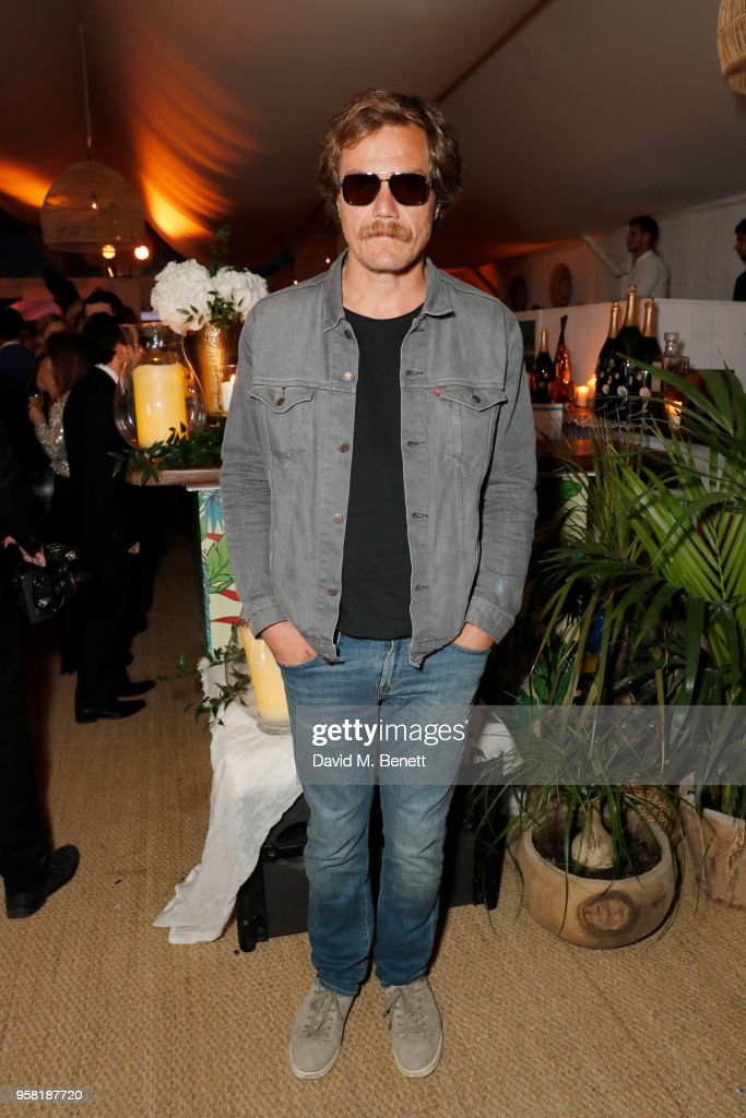 Michael Shannon attends the HFPA Event with Particpant Media to Honor the Kailash Satyarthi Children's Foundation in partnership with Renault at Nikki Beach on May 13, 2018 in Cannes, France.