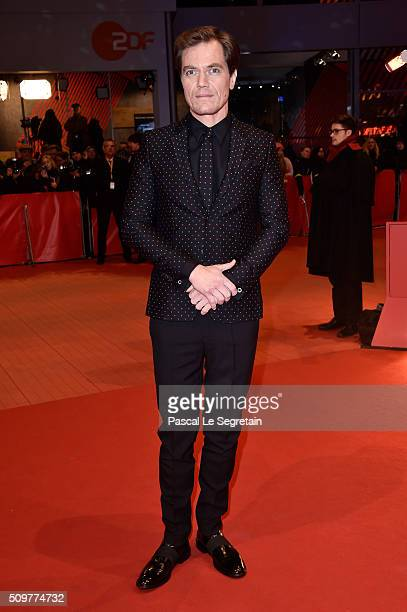 Michael Shannon attends the 'Midnight Special' premiere during the 66th Berlinale International Film Festival Berlin at Berlinale Palace on February...