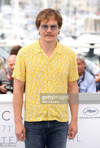 Michael Shannon attends the photocall for the 'Farenheit 451' during the 71st annual Cannes Film Festival at Palais des Festivals on May 12 2018 in...