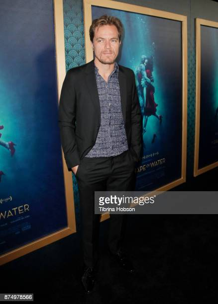 Michael Shannon attends the premiere of 'The Shape Of Water' at Academy Of Motion Picture Arts And Sciences on November 15 2017 in Los Angeles...