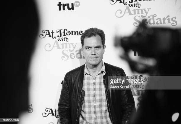 "Michael Shannon attends the premiere screening and party for truTV's new comedy series ""At Home with Amy Sedaris"" at The Bowery Hotel on October 19..."