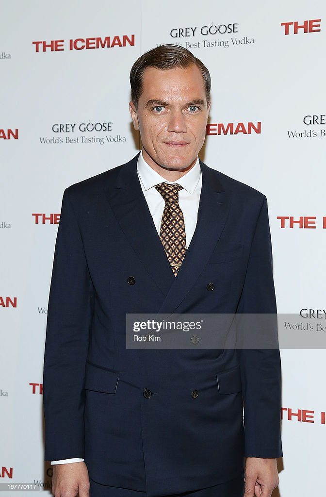 Michael Shannon attends the 'The Iceman' screening presented by Millennium Entertainment and GREY GOOSE at Chelsea Clearview Cinemas on April 29, 2013 in New York City.