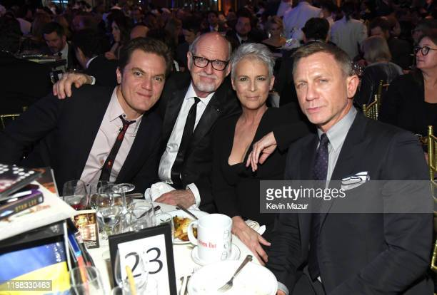 Michael Shannon Frank Oz Jamie Lee Curtis and Daniel Craig attend The National Board of Review Annual Awards Gala at Cipriani 42nd Street on January...