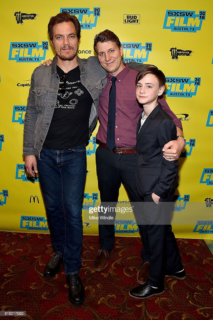 Michael Shannon, Jeff Nichols and Jaeden Lieberher attend the screening of 'Midnight Special' during the 2016 SXSW Music, Film + Interactive Festival at Paramount Theatre on March 12, 2016 in Austin, Texas.