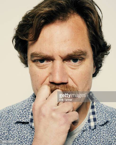 Michael Shannon of the film State Like Sleep poses for a portrait during the 2018 Tribeca Film Festival at Spring Studio on April 21 2018 in New York...