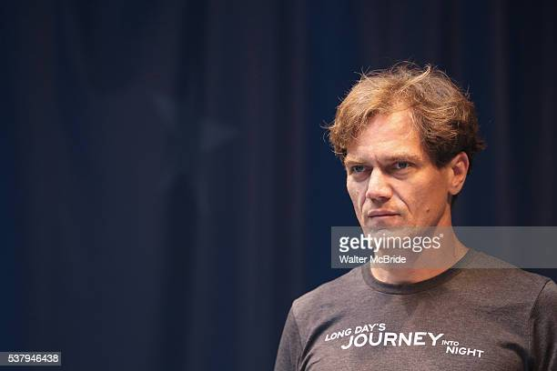 Michael Shannon on stage at United presents 'Stars in the Alley' in Shubert Alley on June 3 2016 in New York City