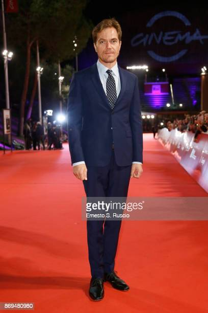 Michael Shannon walks a red carpet for 'Trouble No More' during the 12th Rome Film Fest at Auditorium Parco Della Musica on November 2 2017 in Rome...