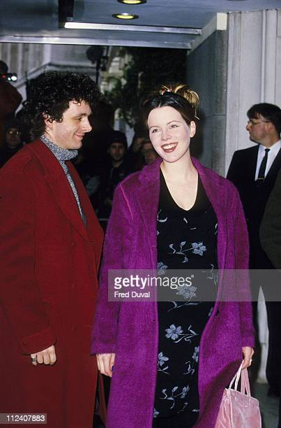 Michael Sheen and Kate Beckinsale during The Evening Standard Theatre Awards 1998 at The Savoy in London Great Britain