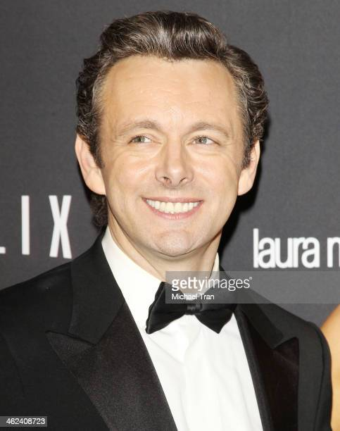 Michael Sheen arrives at The Weinstein Company and NetFlix 2014 Golden Globe Awards after party held on January 12, 2014 in Beverly Hills, California.