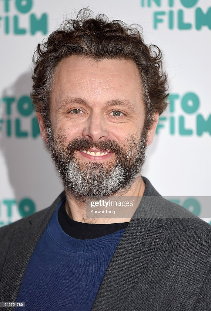Michael Sheen arrives for the 2016 Into Film Awards at Odeon Leicester Square on March 15, 2016 in London, England.