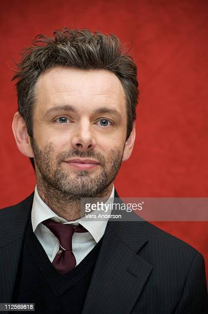 Michael Sheen at The Damned United press conference at The Beverly Wilshire Hotel on October 6 2009 in Beverly Hills California