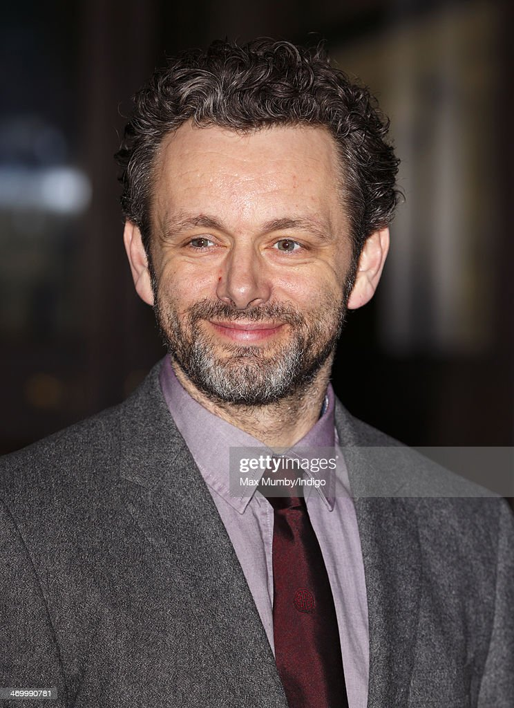 Michael Sheen attends a Dramatic Arts reception hosted by Queen Elizabeth II at Buckingham Palace on February 17, 2014 in London, England.