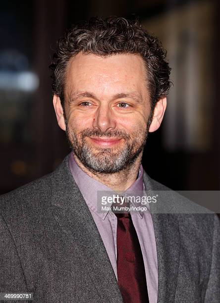 Michael Sheen attends a Dramatic Arts reception hosted by Queen Elizabeth II at Buckingham Palace on February 17 2014 in London England