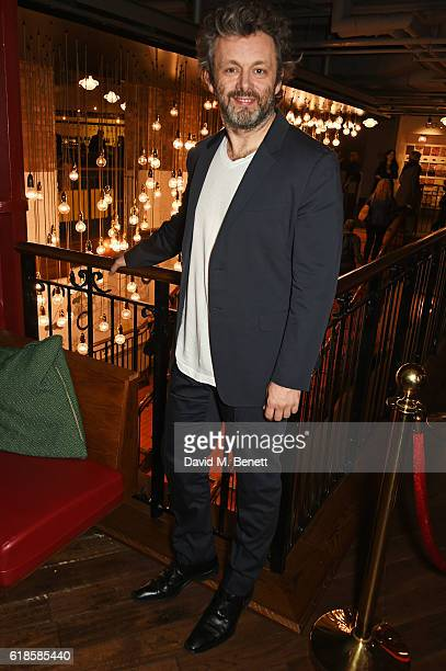 Michael Sheen attends BIFA Meets in association with Time Out at the Picturehouse Central on October 27 2016 in London England