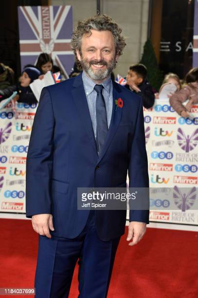 Michael Sheen attends Pride Of Britain Awards 2019 at The Grosvenor House Hotel on October 28 2019 in London England