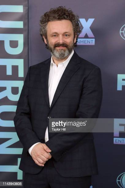 Michael Sheen attends the 2019 Fox Upfront at Wollman Rink Central Park on May 13 2019 in New York City