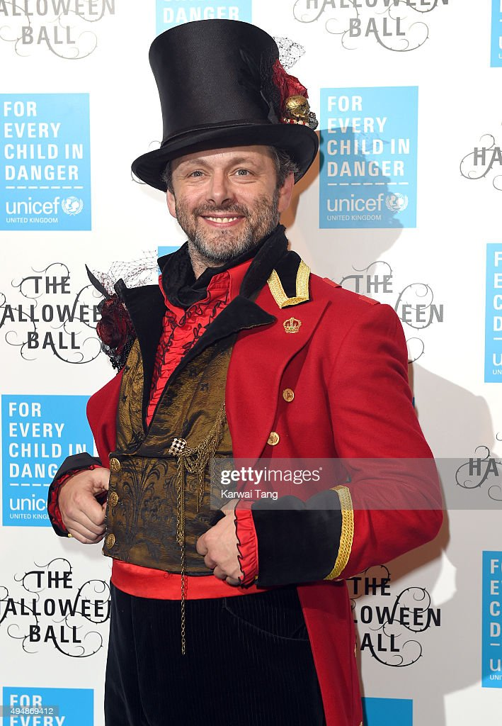 Michael Sheen attends the UNICEF Halloween Ball at One Mayfair on October 29, 2015 in London, England.