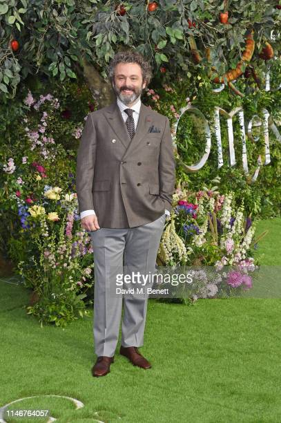 Michael Sheen attends the World Premiere of new Amazon Original Good Omens at the Odeon Luxe Leicester Square on May 28 2019 in London England