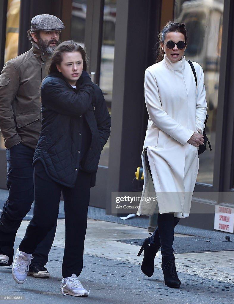 Celebrity Sightings in New York City - April 5, 2016