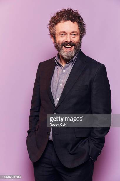 Michael Sheen of CBS's 'The Good Fight' poses for a portrait during the 2019 Winter TCA Portrait Studio at The Langham Huntington Pasadena on January...