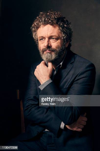 Michael Sheen of CBS's 'The Good Fight' poses for a portrait during the 2019 Winter TCA at The Langham Huntington Pasadena on January 30 2019 in...