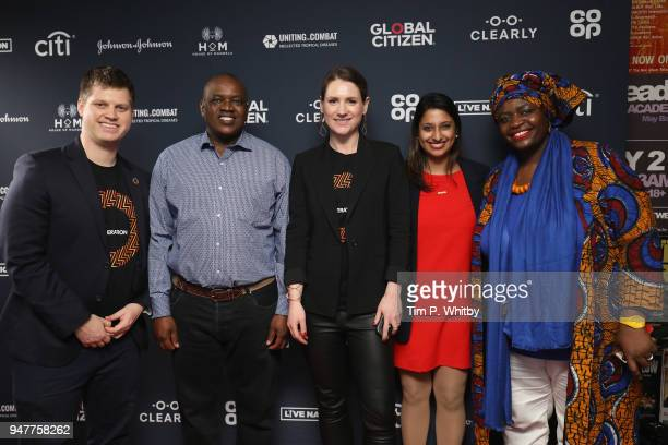 Michael Sheldrick Global Director of Policy and Advocacy at the Global Poverty Project HE Mokgweetsi Masisi President of Botswana Amy Agnew Deputy...