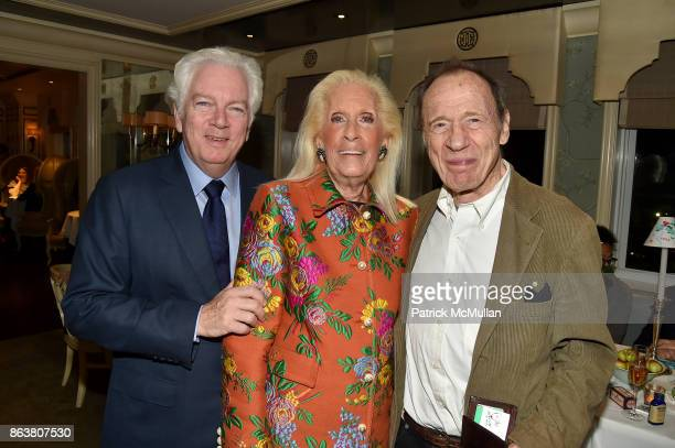 Michael Shnayerson Cynthia Frank and Anthony HadenGuest attend the launch of Second Bloom Cathy Graham's Art of the Table hosted by Joanna Coles and...