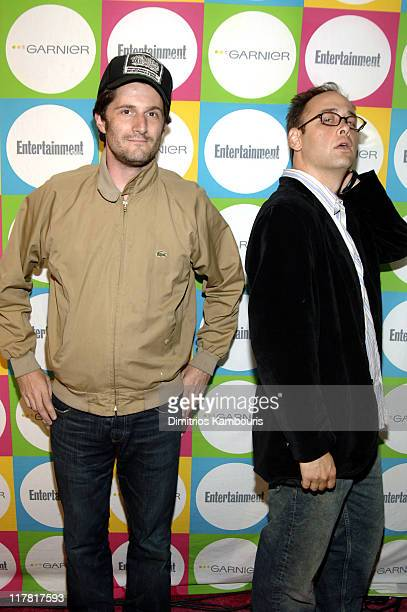 Michael Showalter and David Wain during Entertainment Weekly's 'Must List' Party Arrivals at Deep in New York City New York United States